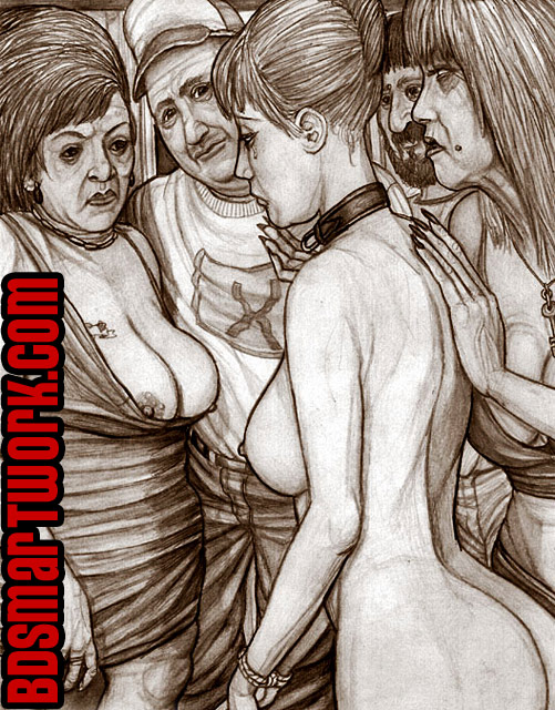 bdsm comics by Hines