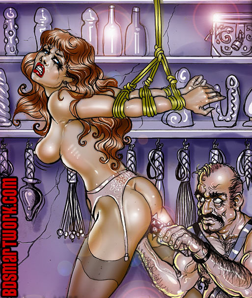 bdsm comics by Roscoe